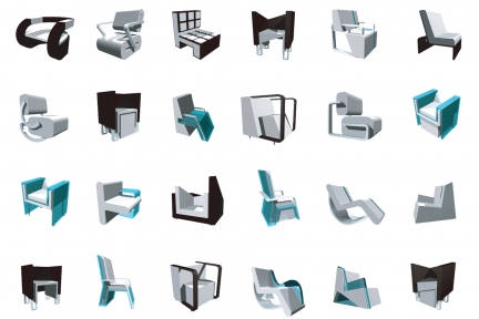 Glacier Chair Collection