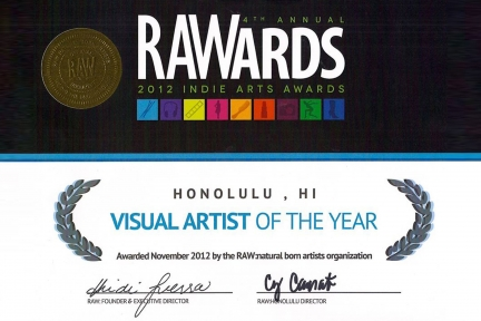 Visual Artist of the Year 2012