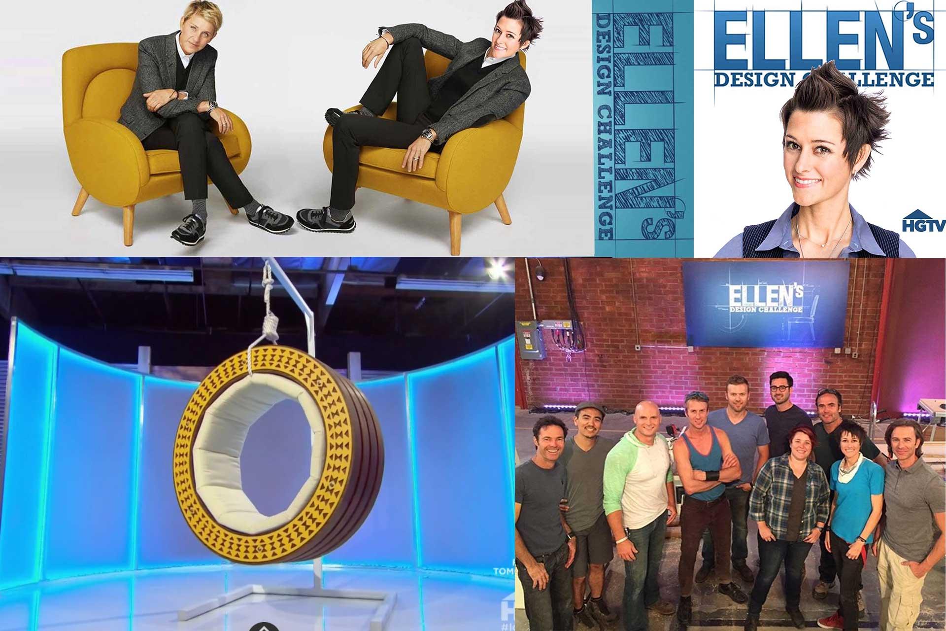 Melissa Rivera on Ellen's Design Challenge